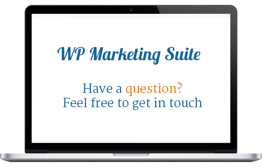 Contact Us - WP Marketing Suite